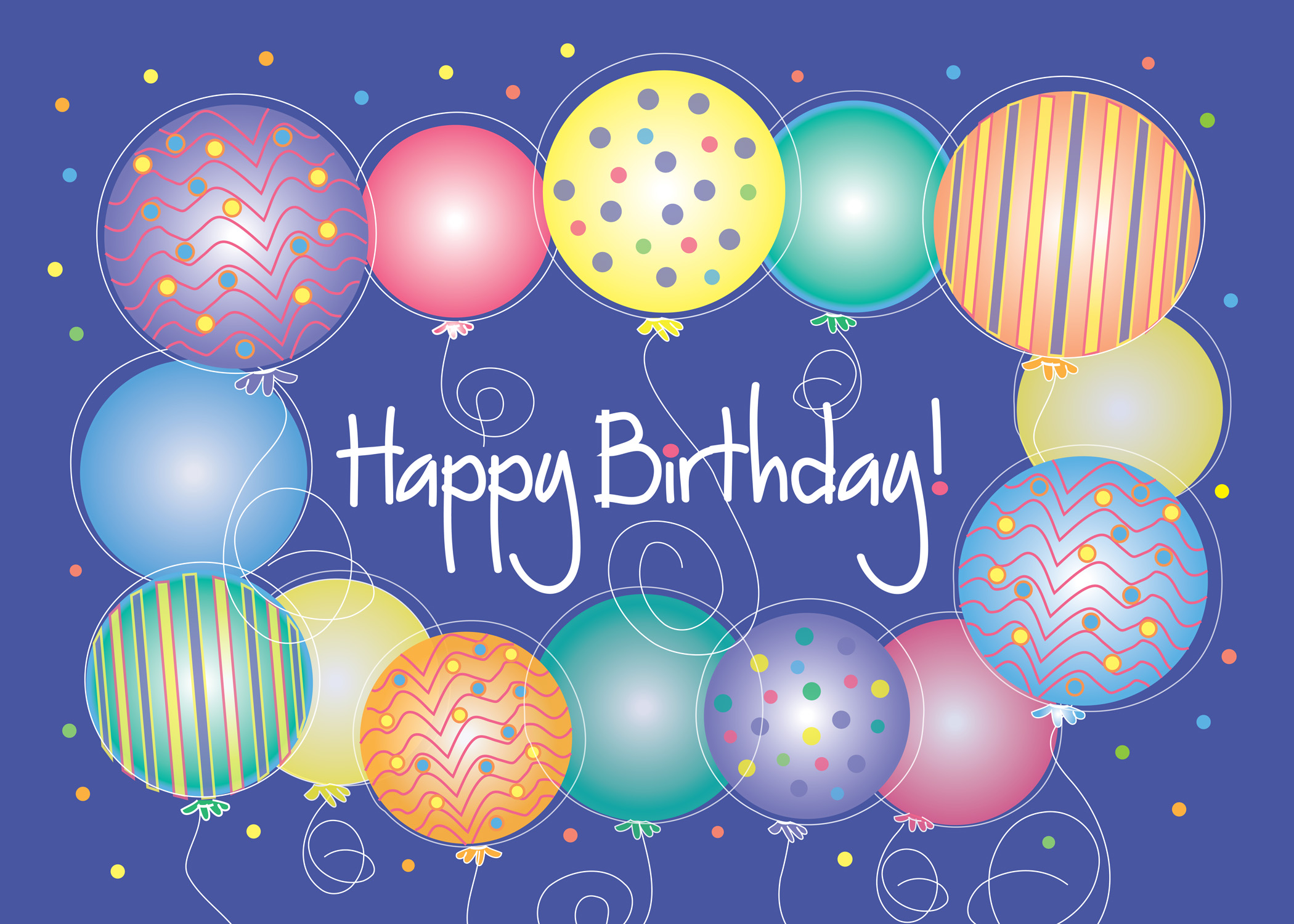 100 Birthday Balloons images